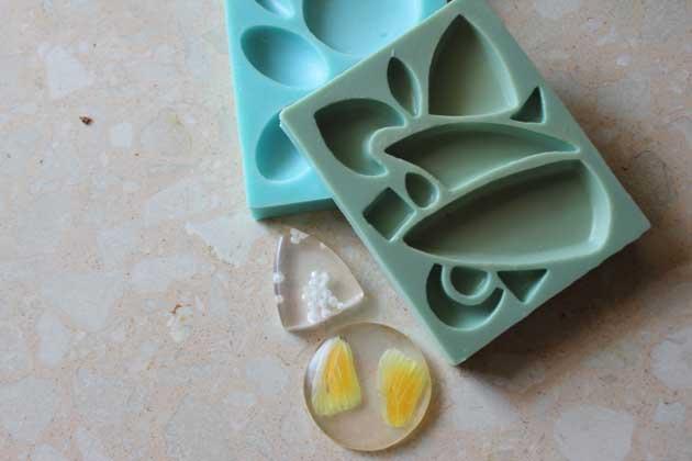 moldes de silicona para arcilla polimerica