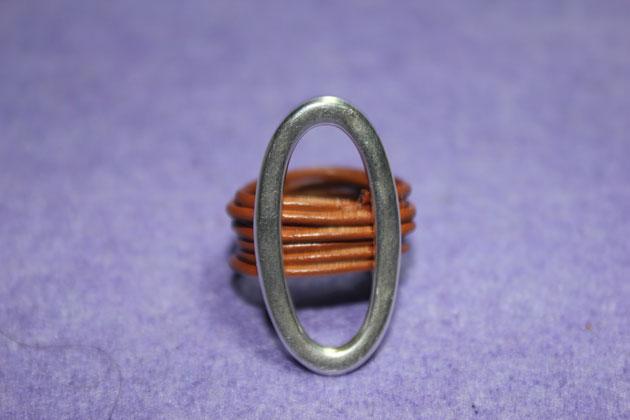 anillo terminado