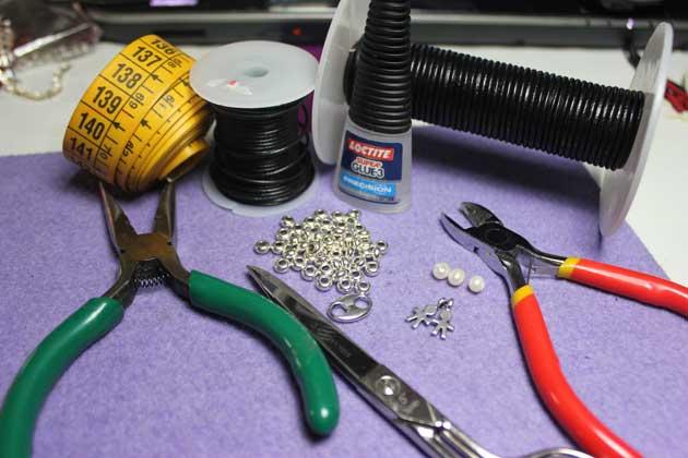 Materiales para realizar la pulsera