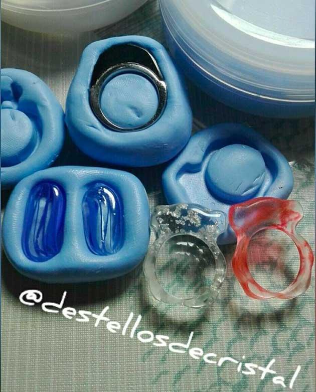 moldes de dos componentes