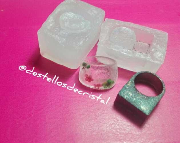 moldes silicina caseros